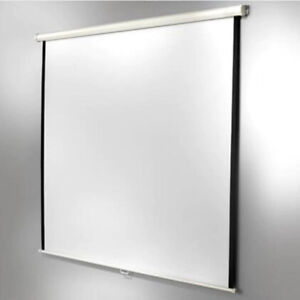 Projector Screen, 8ft diagonal, new condition, boxed