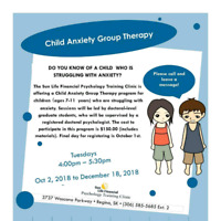 Therapy - Child Anxiety Group