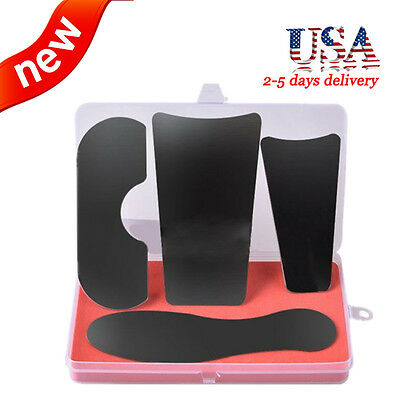 Sale 4pcs Dental Orthodontic Photographic Mirror Stainless Steel Nickel Us Ship
