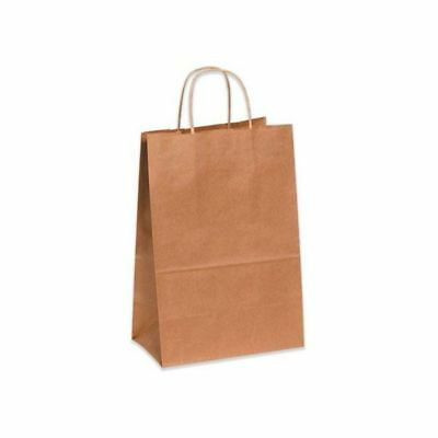 Duro Shopping Bag With Rope Handle Kraft 13 X 7 X 17 250 Bagbundle