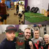 Small group training spots available!