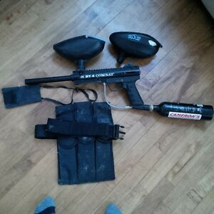 paintball gun and accessories