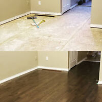 Hardwood and Laminate Installation - Free Estimates 289-380-2421