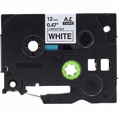2017 Tz-231 Black On White Laminated Label Tape 12mm P-touch Brother Tze231tape