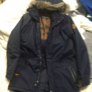 Men's Large O'Neill Navy Blue Winter Jacket - Great condition