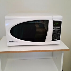 Microwave and stand - moving sale
