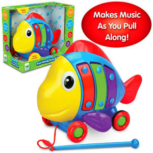 NEW in Box - The Learning Journey 105061 Pull Along Tune a Fish