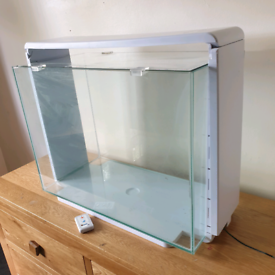 Fish tank Aquarium 80 litre white led