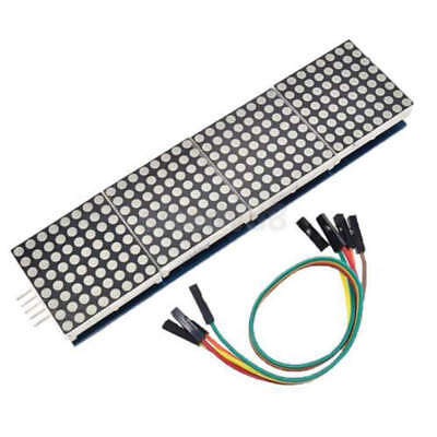 5v Max7219 Dot Led Matrix Module Mcu Control Led Display Modules For Arduino