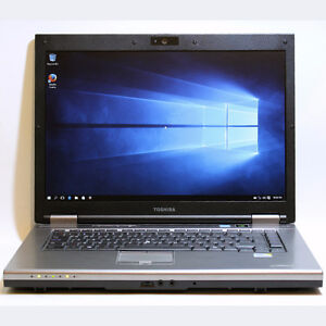Toshiba Tecra S10 Laptop Core2Duo WiFi Webcam 4GB RAM 160G 15.4""