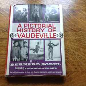A Pictorial History of Vaudeville by Bernard Sobel