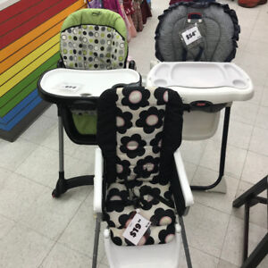 High chairs from $49