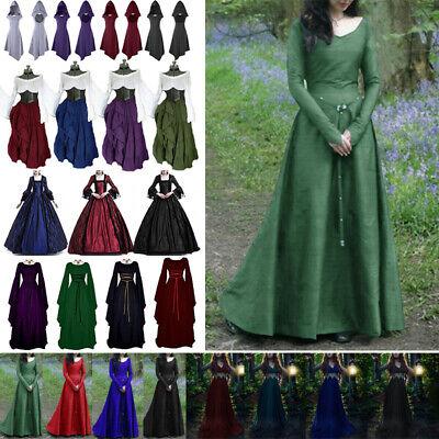 Damen Abend Party Kostüm Gothic Renaissance Mittelalterlichen Kleid -