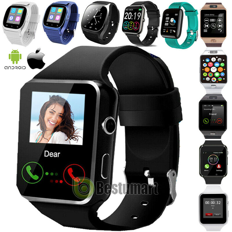 2021 Bluetooth Waterproof Smart Watch &Phone Mate For IOS iPhone Android Samsung