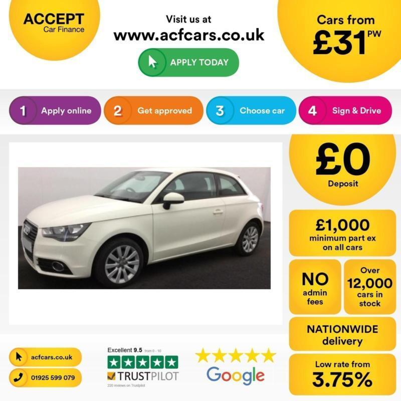 Audi A1 1.6TDI ( 105ps ) 2013MY Sport FROM £31 PER WEEK!