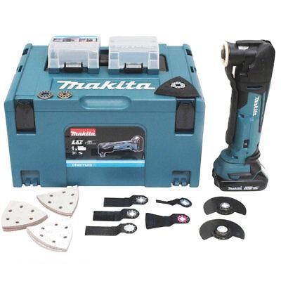 Makita Akku Multifunktionswerkzeug DTM51Y1JX8 mit 1 Akku 18 V im Makpac +Zubehör