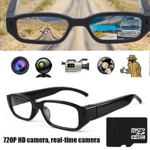 LUNETTES ESPION ENREGISTREUR HD AUDIO VIDEO SPY CAM GLASSES NEW