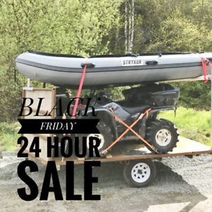 BLACK FRIDAY SALE--25% OFF ANY BOAT (Save up to $1,600)