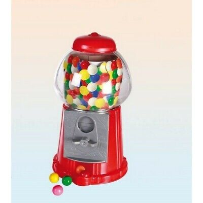 Red Gumball Machine Gummy Sweets Sweet Shop Dispenser Children's Christmas Gift