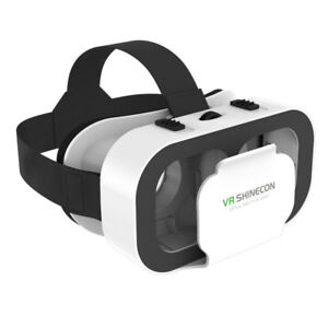 Virtual Reality Headset 3D VR Glasses with Head-Mount Strap