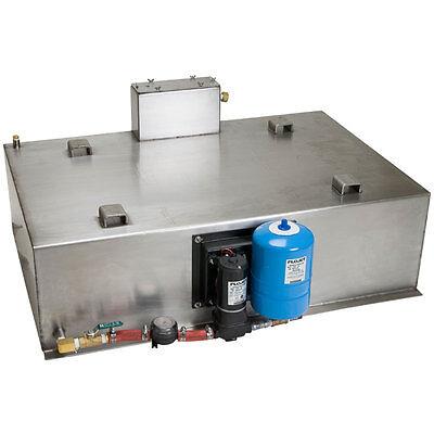 Truckmount Stainless Steel Fresh Water Tank 65 Gallon Carpet Cleaning Equipment