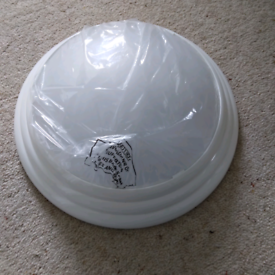 """Apollo"" mini dome light fitting bathroom/kitchen x 2"