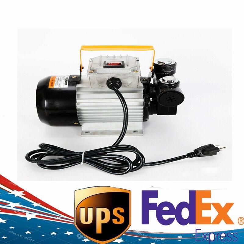 110V AC 60L/min 550W Oil Diesel Fuel Transfer Pump Self Priming 550Watts
