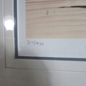 Ron R.S, Parker Numbered Signed Limited Edition Trumpeter Swan 8 Kitchener / Waterloo Kitchener Area image 3