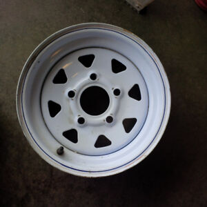 Tent Trailer 12 x 4 Wheel rim with 5 mounting holes