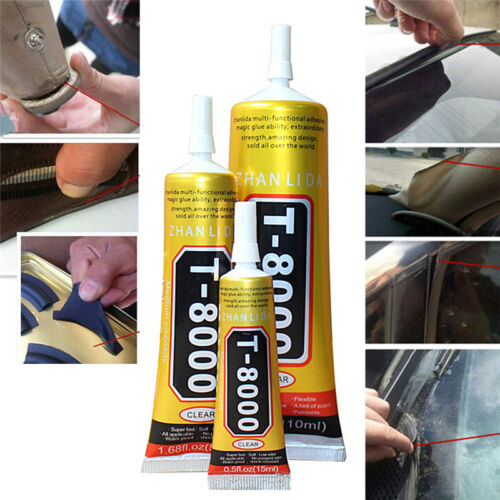 Glue T-8000 Clear Epoxy Resin Sealant Craft Industrial Glass