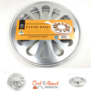 Oyster Wheel Spun Metal Cooking and Serving Tray Wallaroo Copper Coast Preview