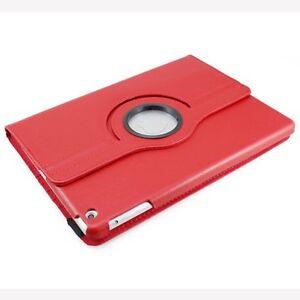 NEW RED 360 ROTATING PU LEATHER CASE COVER STAND FOR IPAD AIR Regina Regina Area image 4