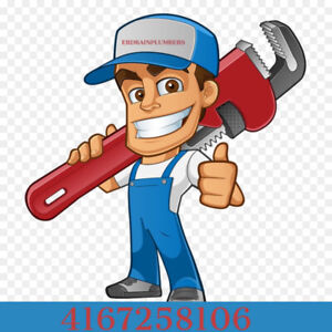 Plumber, clogged Drain. Camera inspection, waterproofing