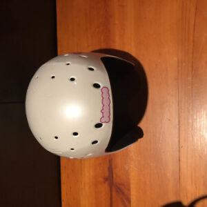 Youth Girls Salomon ski helmet.