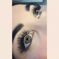 Eyelash Extensions Special-$80-Mobile will come to you if needed