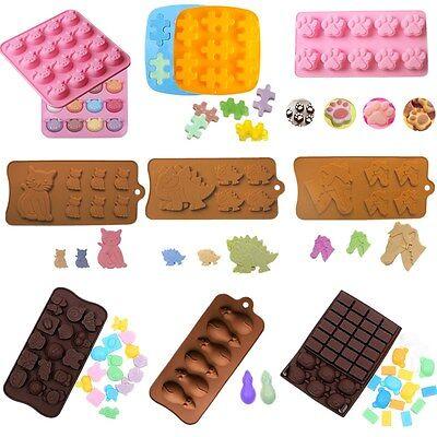 Flexible Silicon Mold - Cake Mold Animal Soap Mold Flexible Silicone Mould For Candy Chocolate Lollipop