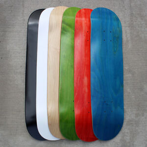BLANK CANADIAN MAPLE SKATEBOARD DECKS - WHOLESALE PRICING