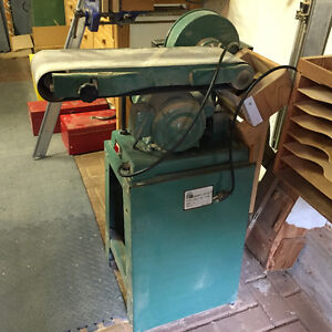 6 inch belt and 9 inch disc sander
