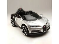 Bugatti Chiron Style children's electric 12v ride on car with parental control