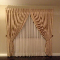 Beautiful 2 set of curtains  -   URGENT MUST SELL!!