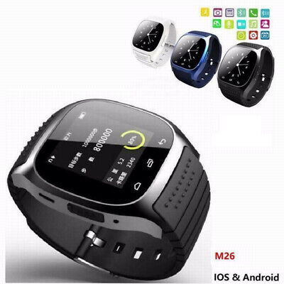 M26 Bluetooth Smart Wrist Watch Phone Mate SIM Fr IPhone Android Samsung Sony