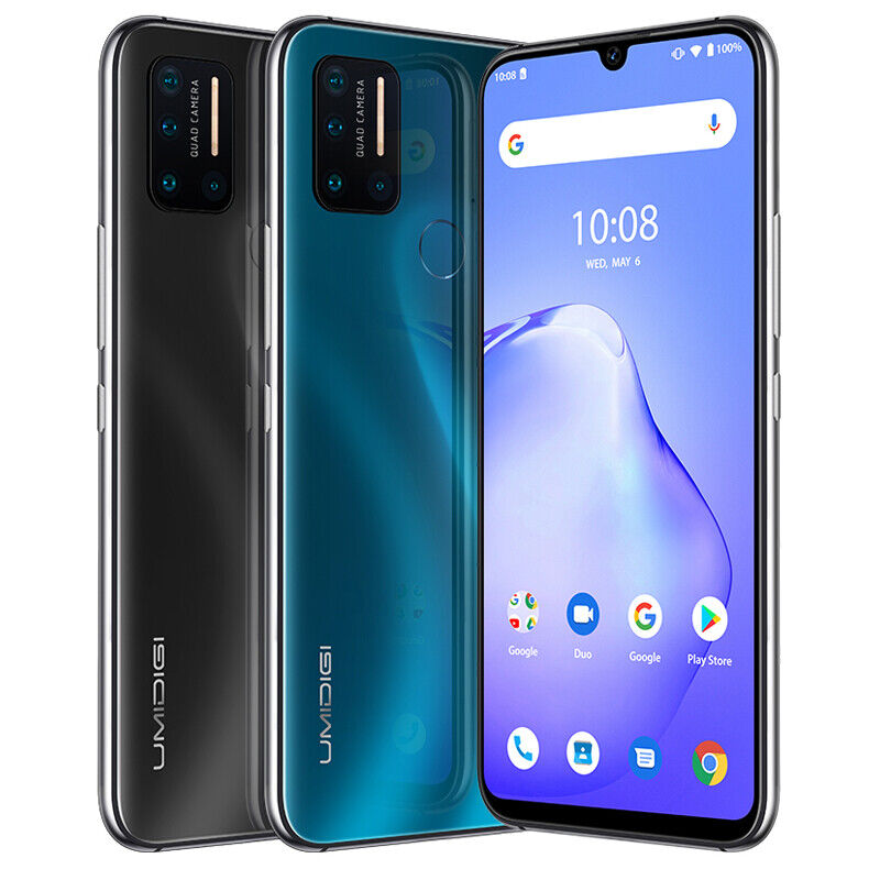 "Android Phone - UMIDIGI A7 Pro 4GB+128GB Smartphone 6.3"" Unlocked Cell Phone Dual SIM Android 10"