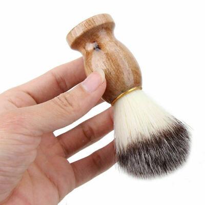 Men Shaving Bear Brush Best Badger Hair Shave Wood Handle Razor Barber (Best Badger Hair Shaving Brushes)