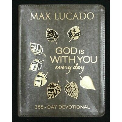 God Is With You Everyday 365-Day Devotional by Max Lucado NEW