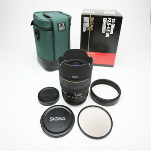 Sigma 15-30mm f/3.5-4.5 EX DG IF Aspherical Ultra WideAngle Zoom