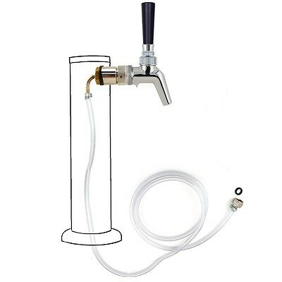 Draft Beer Tower Rebuildrefurbish Kit - Stainless Steel W Perlick 630ss Faucet