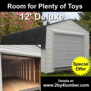 Motorcycle / Atv Storage Shed Offer