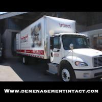 Déménagement résidentiel/Déménagement commercial/Entreposage