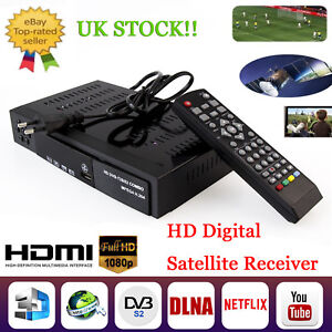 HD Digital Satellite TV Receiver DVB-T2+DVB-S2 Combo FTA 1080P Decoder Tuner Box