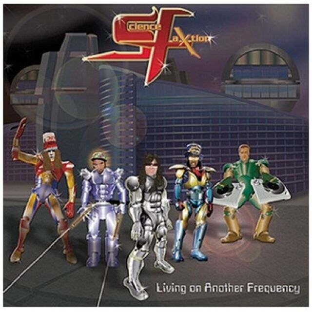 SCIENCE FAXTION - LIVING ON ANOTHER FREQUENCY  CD NEU